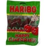 Candy Haribo Happy cherrie 200g flow-pack