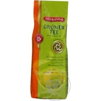 Tea Teekanne green loose 250g vacuum packing India