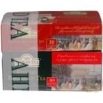 Чай Ахмад пакетированный 120г картонная упаковка