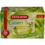 Чай Тикане зеленый в пакетиках 20х1.75г Германия