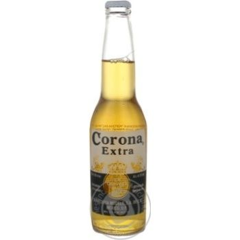 Пиво extra Corona светлое 355мл