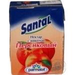 Нектар Сантал персиковый с мякотью тетрапакет 200мл Россия