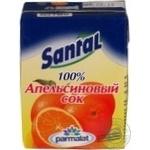 Juice Santal orange 200ml Russia