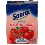 Нектар Сантал клубничный тетрапакет 200мл Россия