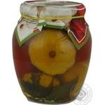 Vegetables canned 720ml glass jar