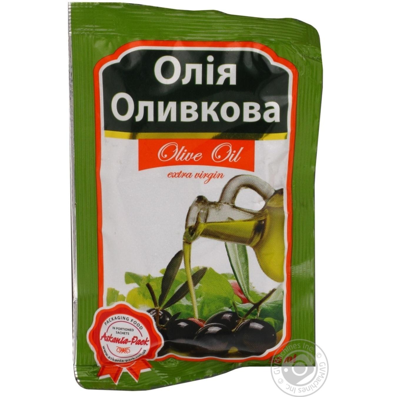 Масло оливковое Аскания-Пак сашет 50мл → Консервы и приправы ... 091708300d65c