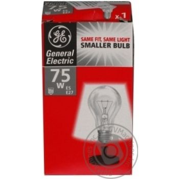 Bulb General electric e27 75w 240v - buy, prices for Novus - image 1