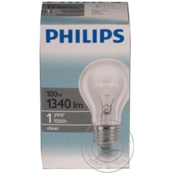 Bulb Philips e27 100w 1000hours 230v