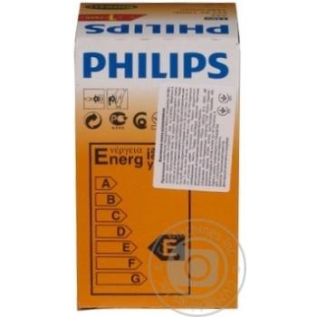 Лампа Philips A55 звичайна матова 100w E27 FR - купить, цены на Novus - фото 7
