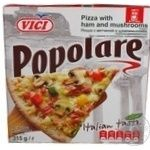 Vici Popolare Frozen With Ham And Champignons Pizza