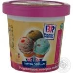 Мороженое Баскин Робинс шоколадное с миндалем 500мл Россия