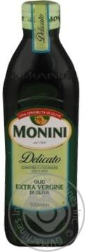 Масло Монини оливковое экстра вирджин первого холодного отжима 500мл