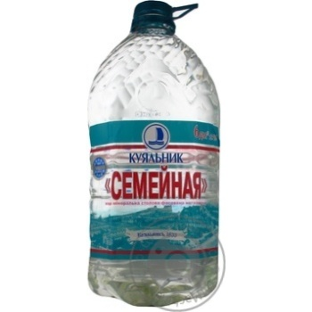 Water Kuialnyk non-carbonated 6000ml plastic bottle