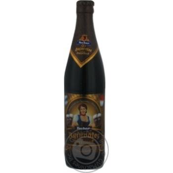 Пиво Тухер Баюватор темное крепкое фильтрованное пастеризованное стеклянная бутылка 7.5%об. 500мл Германия