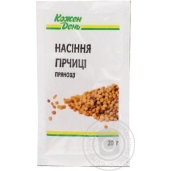 Семена горчицы Каждый день 20г - купить, цены на Ашан - фото 2