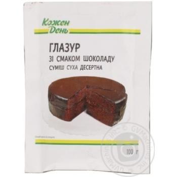 Глазурь Каждый день со вкусом шоколада 100г