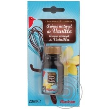 Ароматизатор Auchan натуральный ваниль 20мл