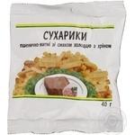 Сухарики Каждый день пшенично-ржаные со вкусом холодца с хреном 40г