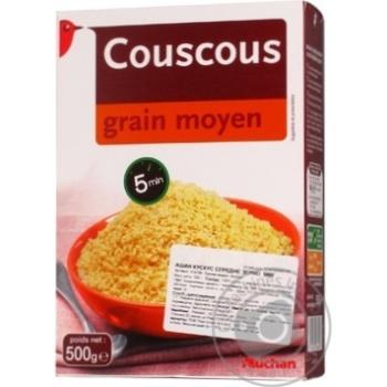 Кускус Auchan середнє зерно 500г - купити, ціни на Ашан - фото 5