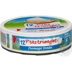 Сыр Ашан плавленый порционный 45% 200г