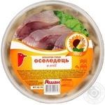 Сельдь Ашан филе-кусочки в масле 500г