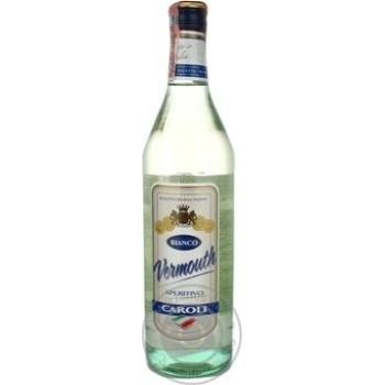 Вермут Caroli Bianco Aperitivo белый 15% 1л