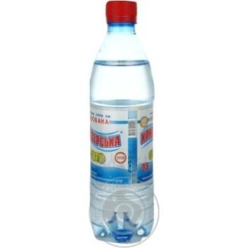 Вода Кривоозерская минеральная столовая негазированная 0,5л - купить, цены на Ашан - фото 2