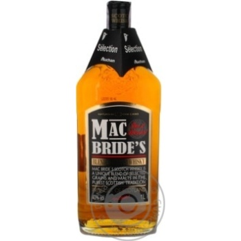 Виски Mac Bride's 40% 1л