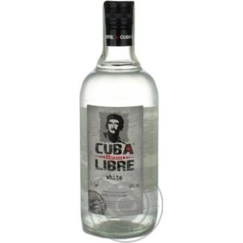 Ром Cuba Libre белый 40% 0,7л