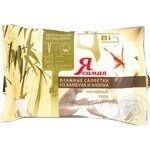 Салфетки Я самая влажные для интимного ухода из органических ингредиентов бамбук и хлопок 15шт Россия