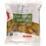 Auchan Green Olives with bone 180g
