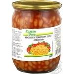 Kozhen Den In Tomatoe Sauce Kidney Beans
