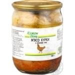 Мясо курицы Каждый день в собственном соку 500г