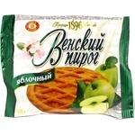 Пирог Бисквит-шоколад Венский пирог песочный яблочный 55г