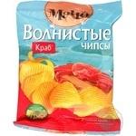 Чипсы Мачо картофельные волнистые со вкусом краба 50г Украина