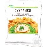 Сухарики Каждый день пшенично-ржаные со вкусом сметаны с зеленью 100г