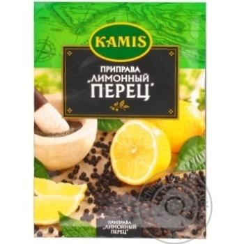 Приправа Лимонний перець Kamis 20г