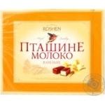 Цукерки Roshen Пташине молоко ванільне глазуровані шоколадною глазур'ю 200г Україна