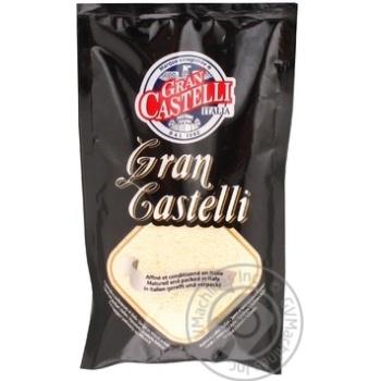 Сыр Кастелли Гран Кастелли твёрдый тёртый 32% 100г