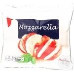Сыр Ашан Моцарелла мягкий 45% 125г