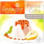 Десерт Кремуар Панна Котта на сливках с грушей в карамели 120г