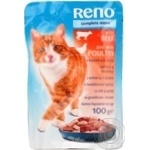 Reno With Beef And Poultry For Cats Food