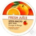 Fresh Juice Orange And Mango For Body Cream-Oil