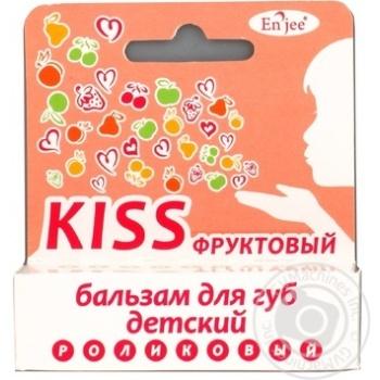 Бальзам En`jee Kiss Фруктовый для губ для детей 6мл