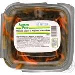 Морская капуста Каждый день с морковью по-корейски 350г