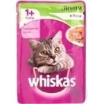 Корм для взрослых котов Whiskas с ягненком в желе 100г - купить, цены на Фуршет - фото 3