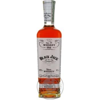 Виски Black Jack Silver 38% 0,7л