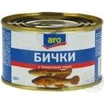 Бички Aro в томатному соусі 230г