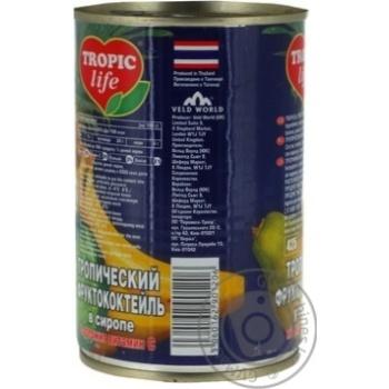 Коктель Tropic Life тропічний 425мл - купити, ціни на Фуршет - фото 4