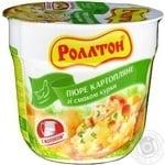 Пюре Роллтон картопляне зі смаком курки 37г